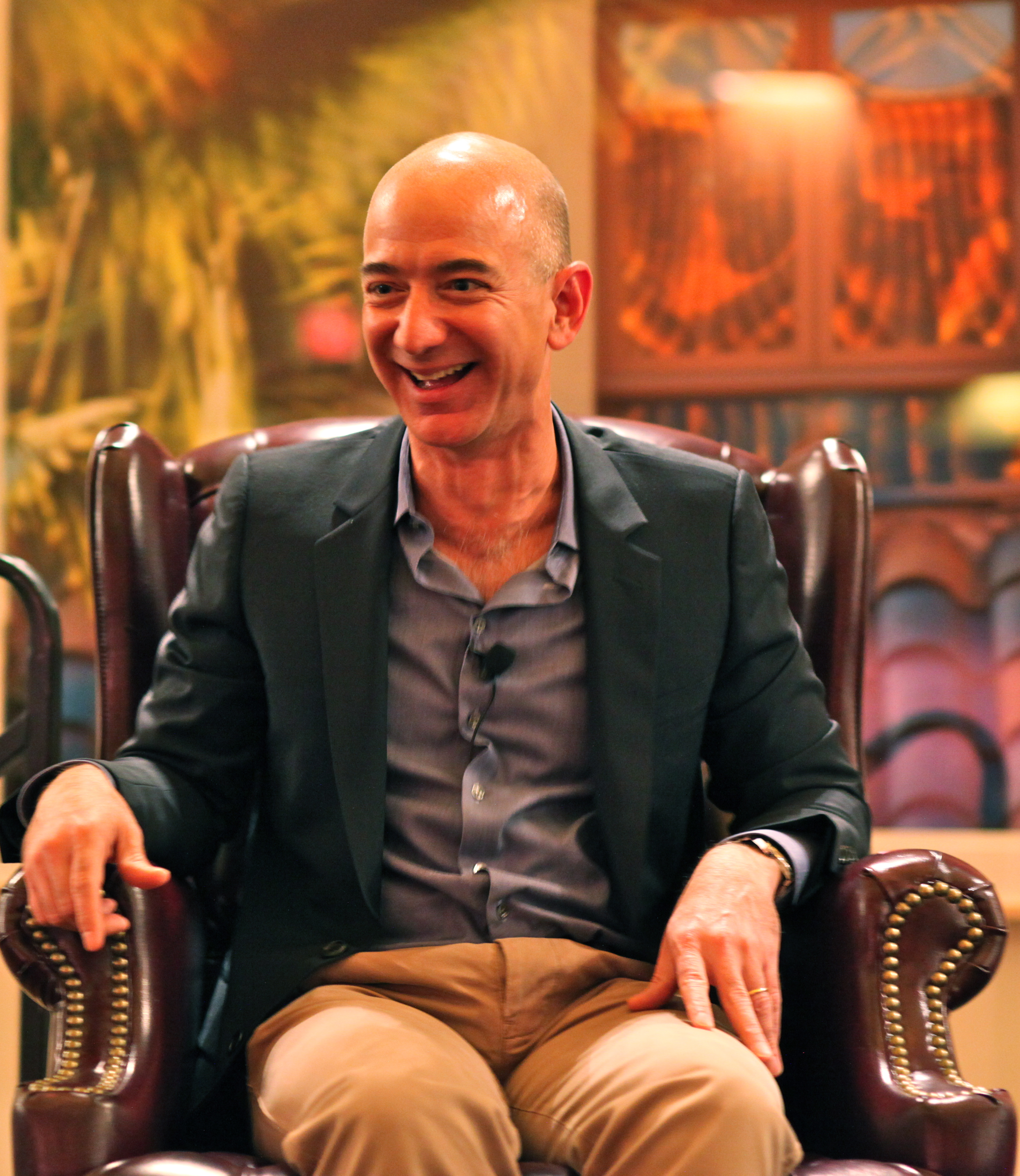 The first rule of Jeff Bezos's writers retreat is don't talk about Jeff Bezos's writers retreat