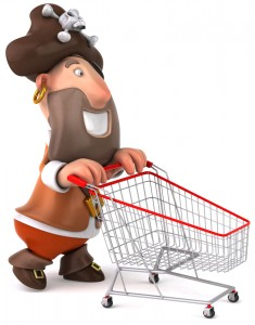 Pirate online shopping