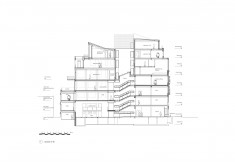 Annotated drawings of Foyles 107, courtesy of LDS