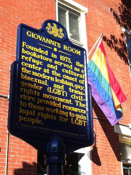 Gay landmark Giovanni's Room to reopen