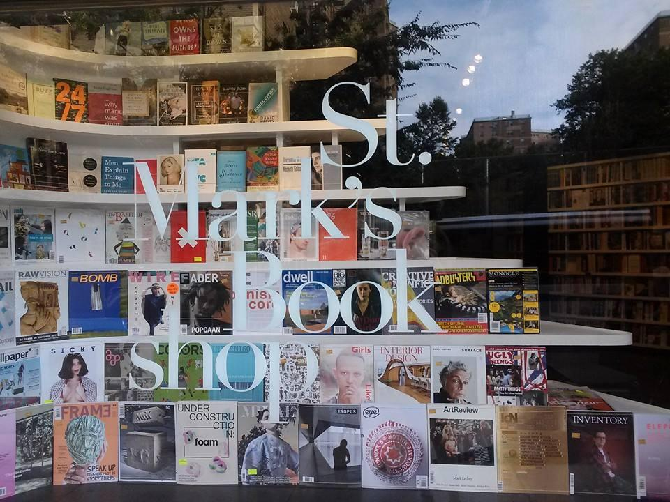 You blinked and St. Mark's Bookshop reopened