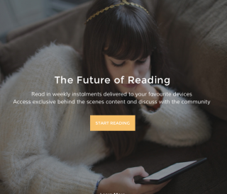 "The Pigeonhole offers an serialized experience that they hope will reflect ""the future of reading."""