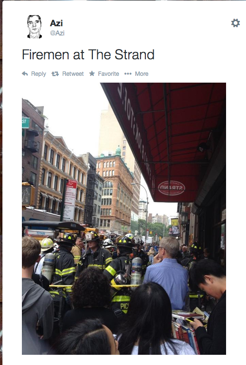 So, what books were you guys buying before you got pepper sprayed?