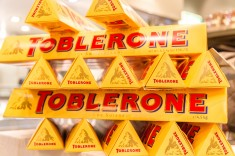Toblerone, currently #1 on the new New York Times Bestseller List,