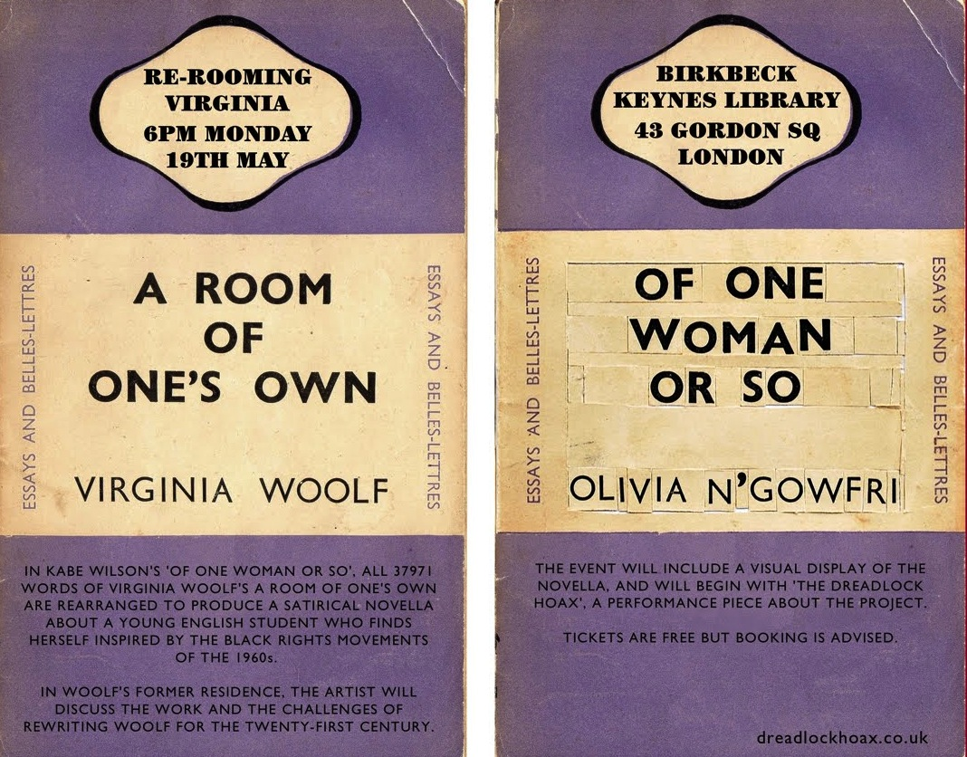 Virginia woolf essay a room of one's own