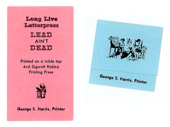 Miniature cards from the Newberry Library's Wing Collection