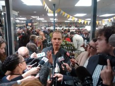 Hager at the book's launch party. Image via Wikipedia.