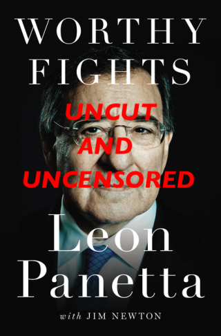 This is probably what Leon Panetta wishes the cover of his memoir looked like.