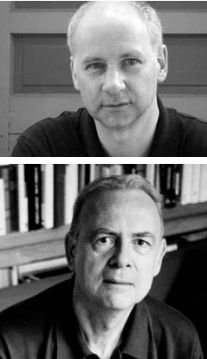 Mark Polizzotti and Patrick Modiano. Images via ndbooks.com and ecuadortimes.net.