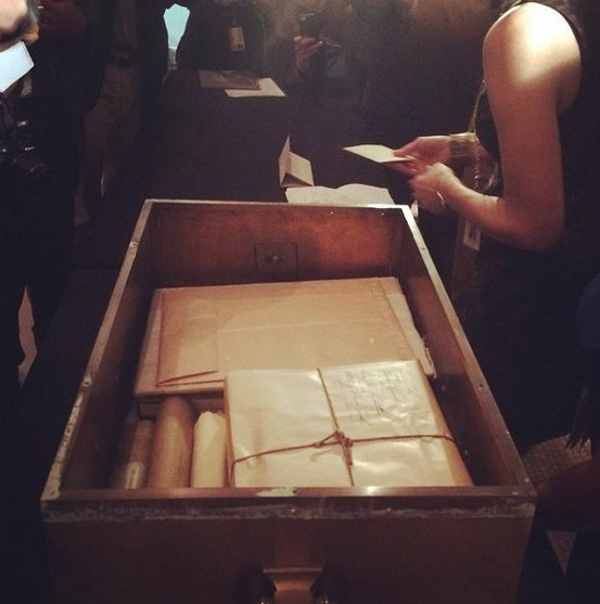 Contents of a 1914 time capsule were revealed at the New York Historical Society this week.