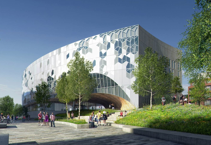 Norwegian architecture firm Snøhetta is designing impressive modern libraries worldwide