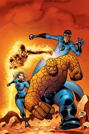 The Fantastic Four will meet their end in June 2015. ©Marvel Characters, Inc. / via Wikipedia