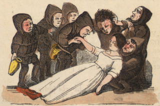 Snow White and the Seven Dwarfs, from an 1852 icelandic translation. Image via Wikipedia.