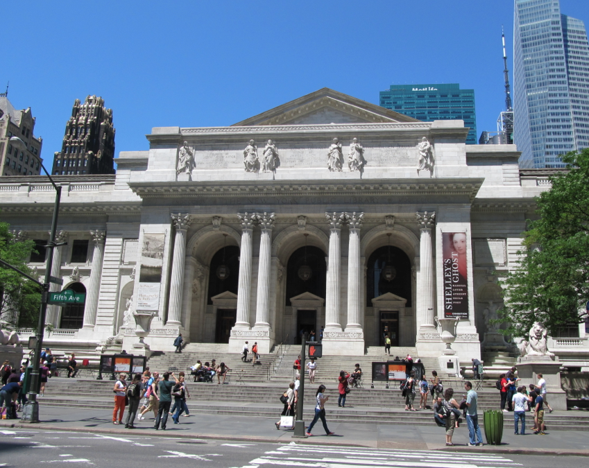 The New York Public Library is soliciting feedback from the public and has formed a 40 person team of staff members to come up with plans for the 42nd Street library and the Mid-Manhattan library.