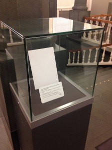Sad case in the National Library of Scotland shared via Creative Commons.