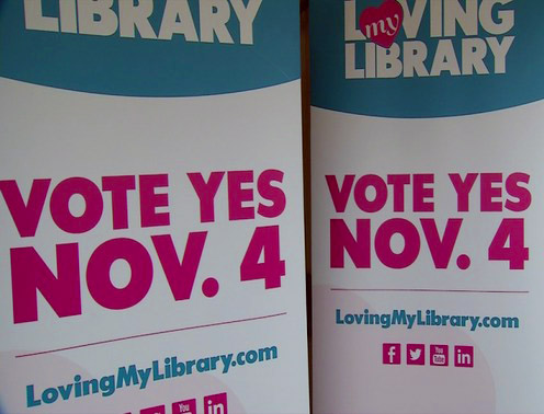 Kanawha County voters in West Virgina voted to pass a three million library levy this week.