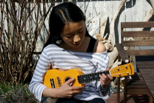 Ukuleles are easy to learn to play, which is part of the reason libraries are developing lending programs offering the instrument to patrons.