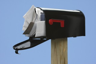 This photo of your mailbox was sent to us from the future.
