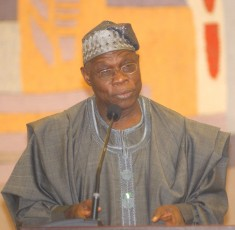 Former president Obasanjo is not shy. Image via Wikipedia.