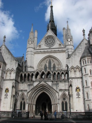 The Royal Court of Justice, in which cooler heads have recently prevailed. Image via Wikipedia.