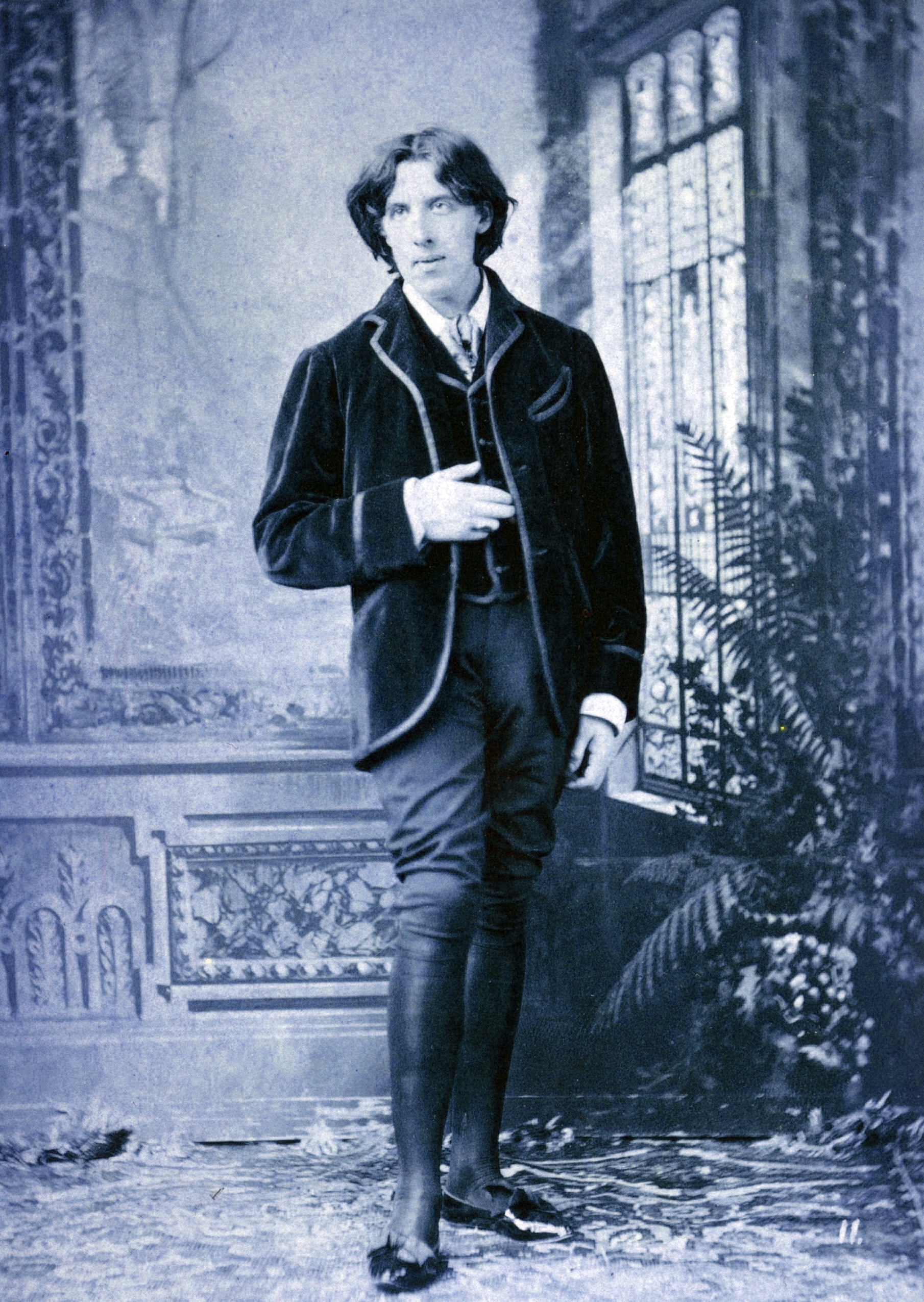 Gay icon and martyr figure Oscar Wilde converted to the Catholic faith on  his deathbed. You can read the fascinating story here.