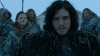 Jon Snow has had enough of your trolling. Image copyright HBO, via Westeros.org