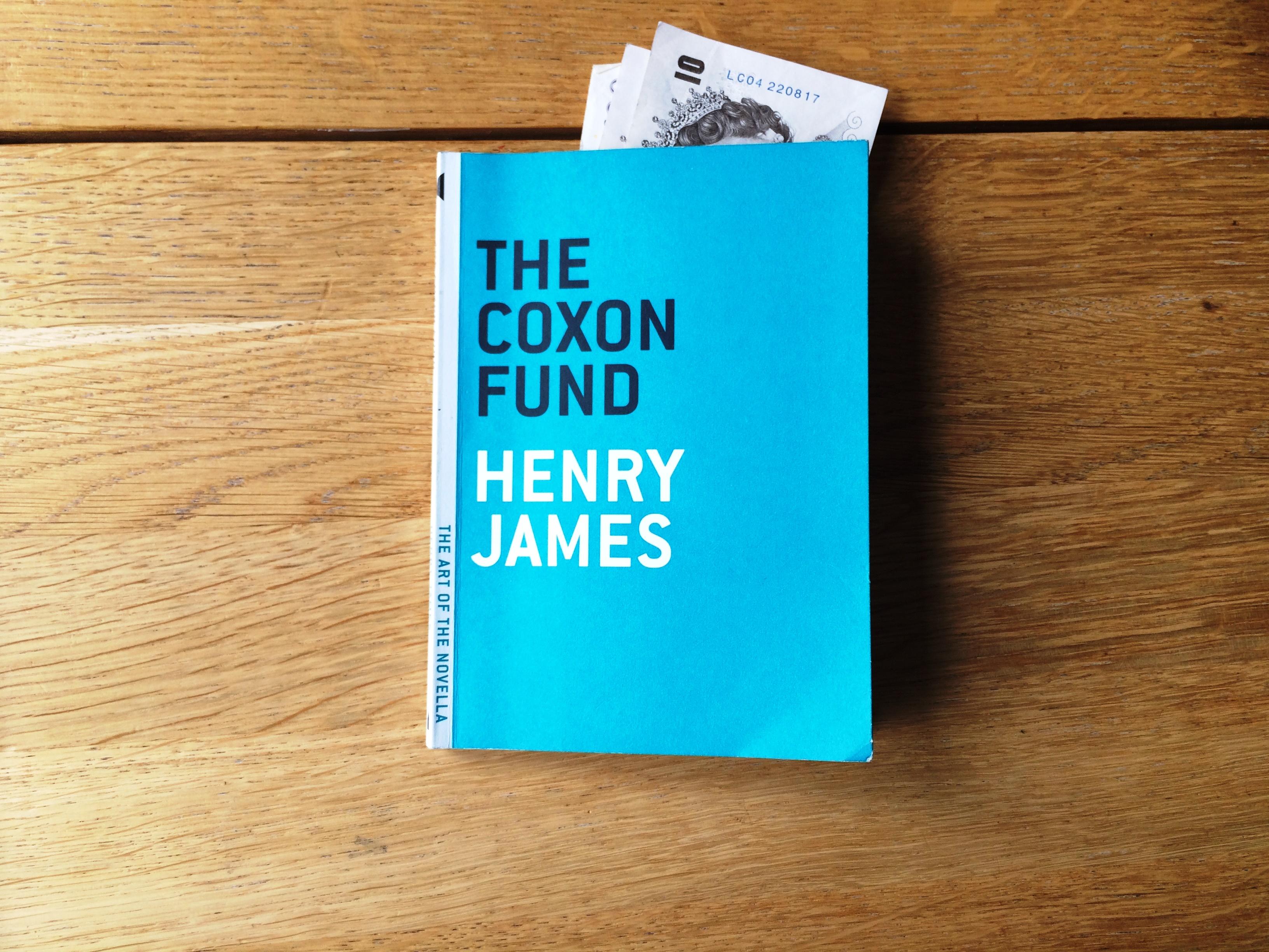 The Art of the Novella challenge 15: The Coxon Fund