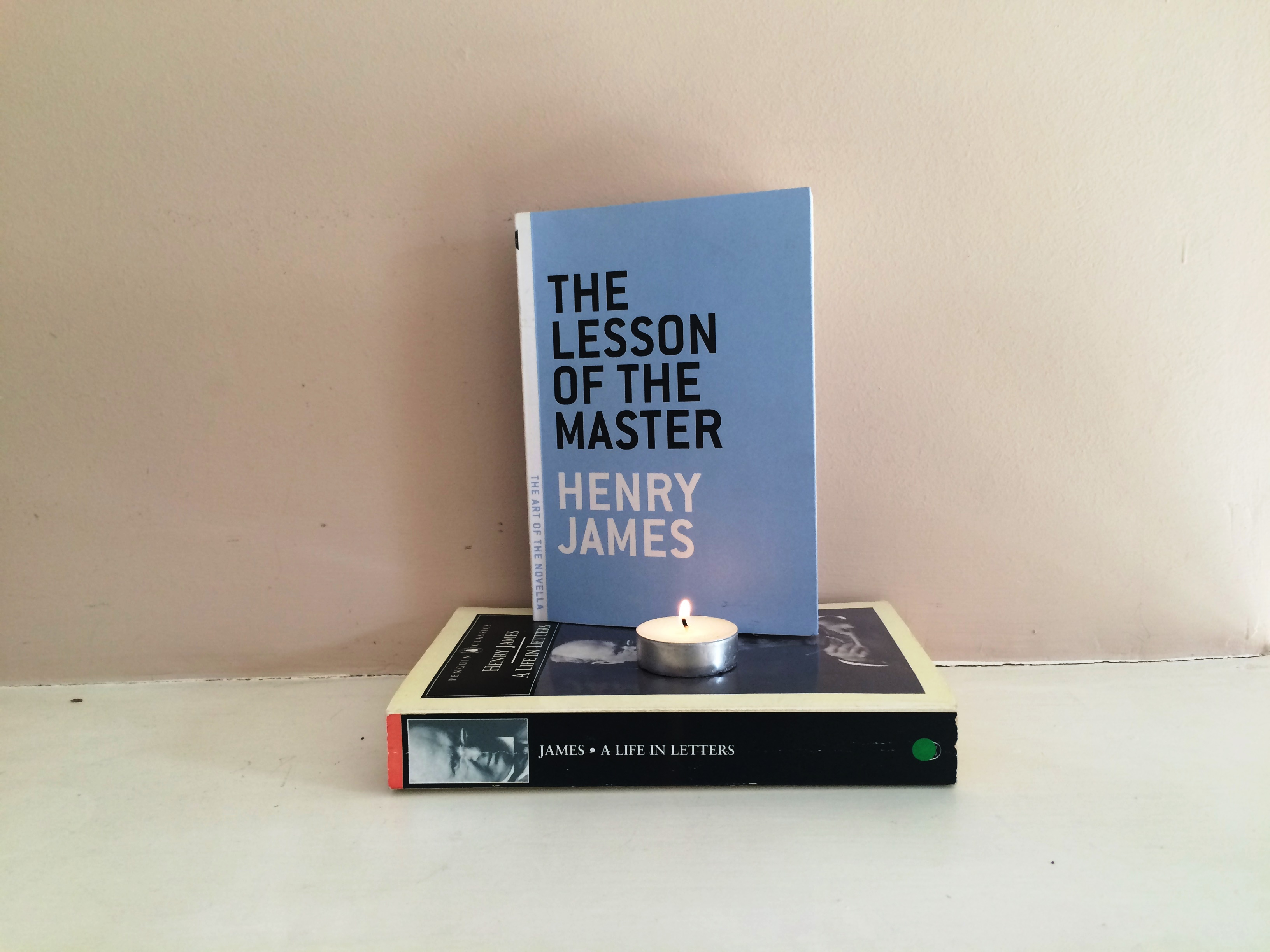 The Art of the Novella challenge 16: The Lesson of the Master