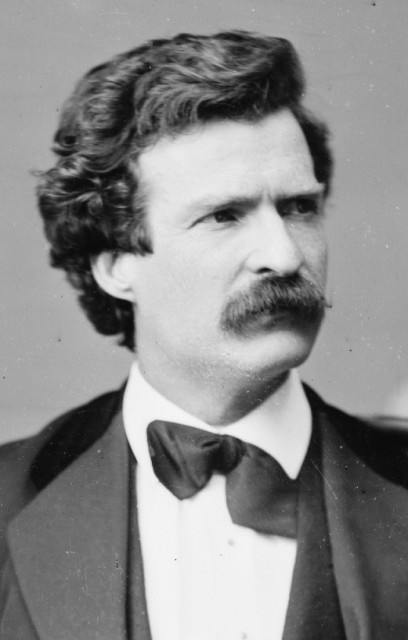 A collection of dispatches from Mark Twain have been uncovered by a research team at UC Berkeley. via Wikipedia