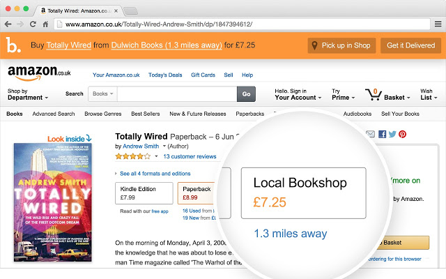 How to shop on Amazon.com & purchase from an indie bookstore