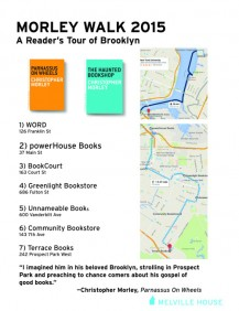 Our itinerary!