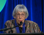 "Ursula LeGuin: ""The idea of publishing is almost gone, replaced by the Amazon model."""
