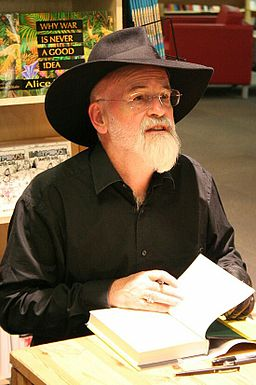Terry Pratchett's daughter Rhianna has confirmed that his Discworld series has come to an end. © Robin Zebrowski / via Wikimedia Commons