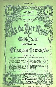 A late edition of All The Year Round, from 1891. (Wikipedia)