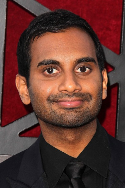 Aziz Ansari is leaving oddly signed books behind him like bread crumbs.